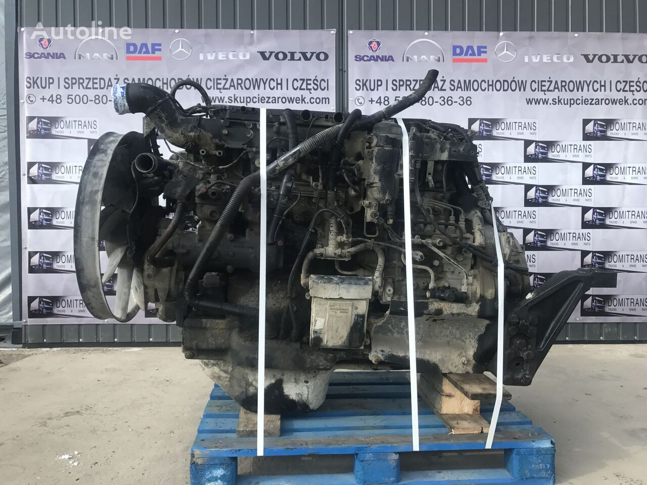 MAN D2866 LF37 360 engine for MAN TGA tractor unit