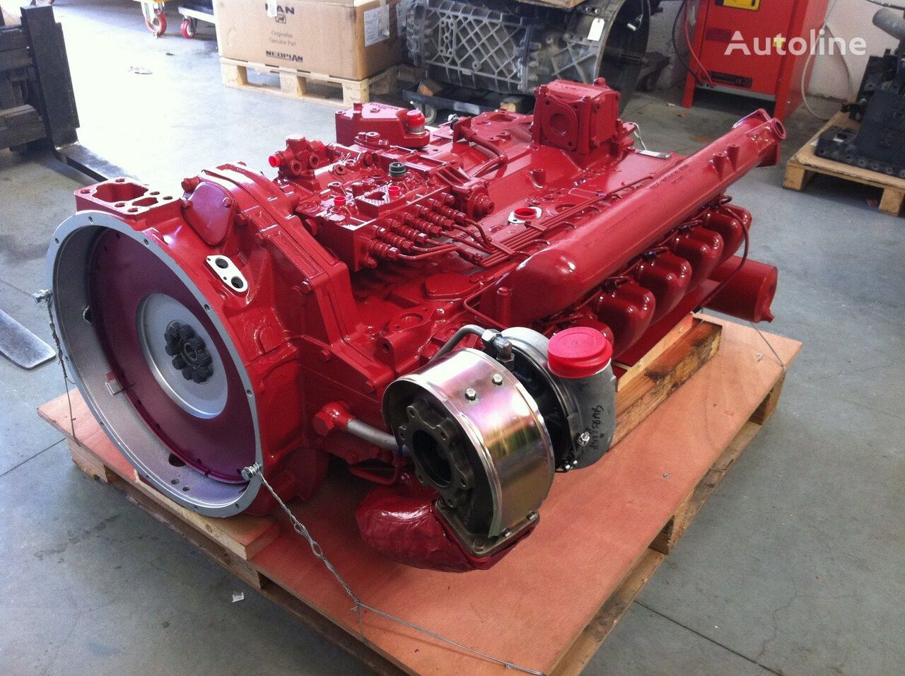 MAN D2866LUH26 per BUS e engine for truck