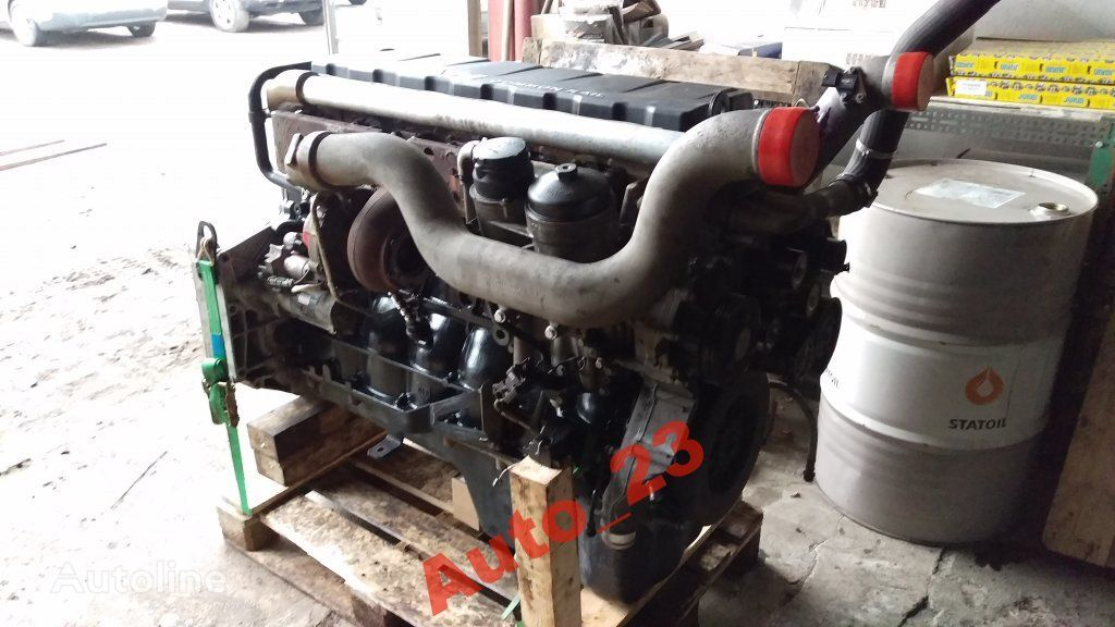 MAN Kompletny 340tys km engine for MAN TGX EURO 5 440  truck