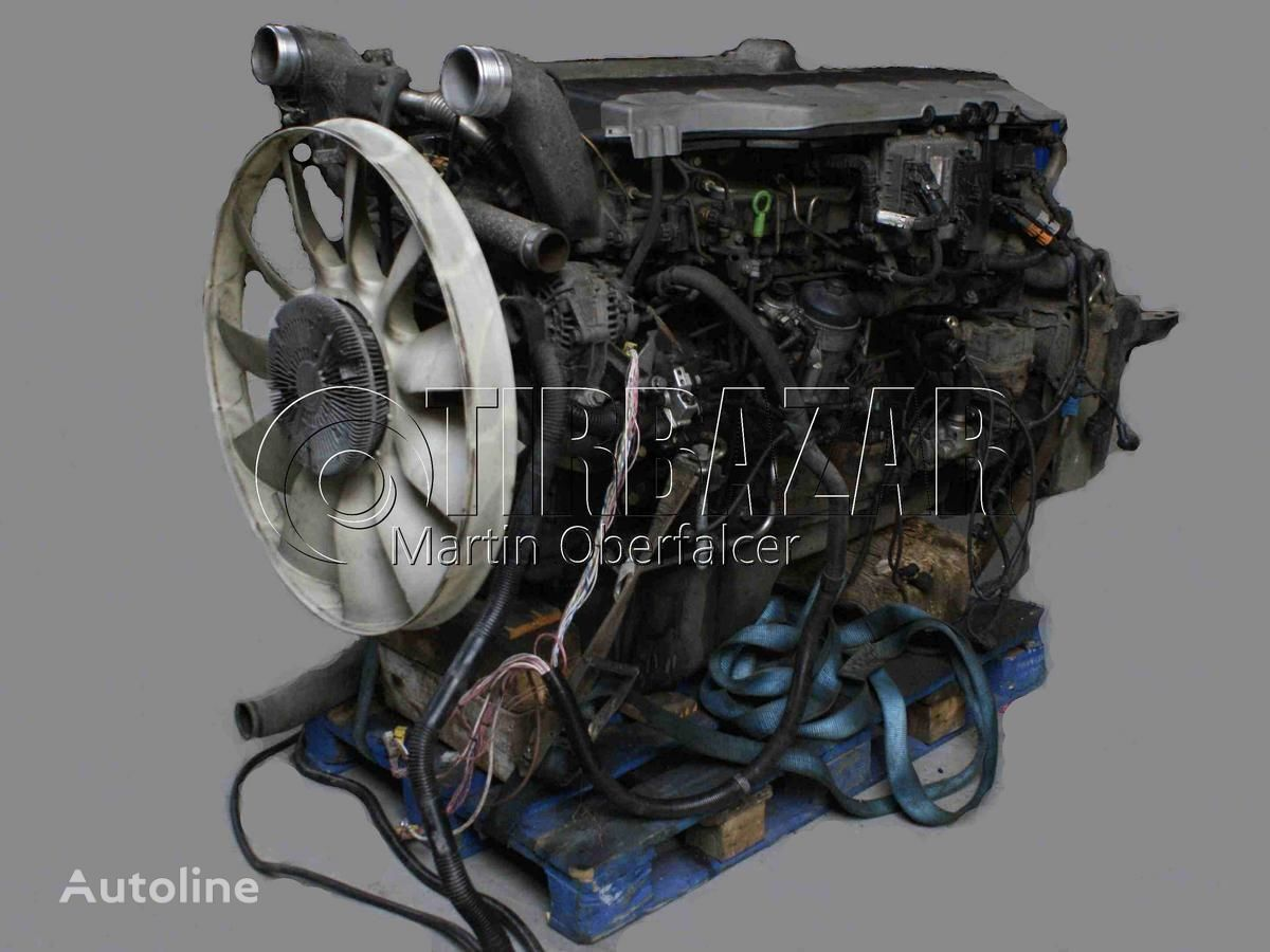 engine for MAN motor 480 HP EURO 4 truck