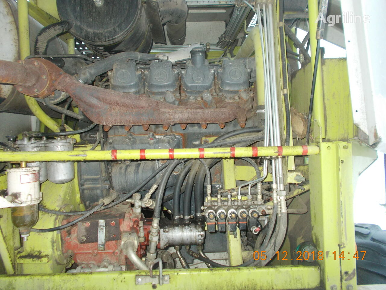 MERCEDES-BENZ OM 402 LA engine for CLAAS Jaguar 840 grain harvester