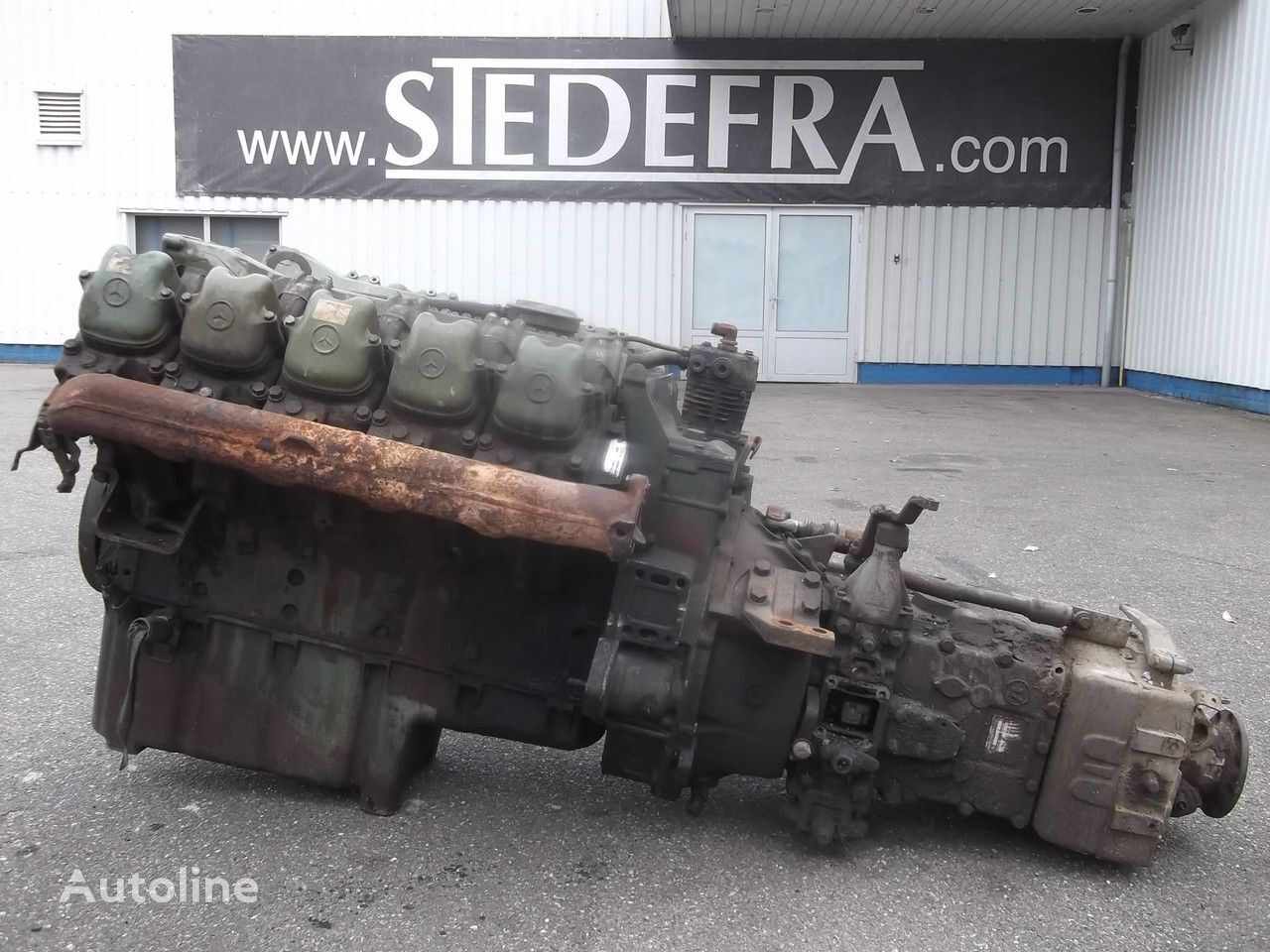 engine for MERCEDES-BENZ OM 403 Engine V10 + ZF Gearbox,10 pieces in stock truck