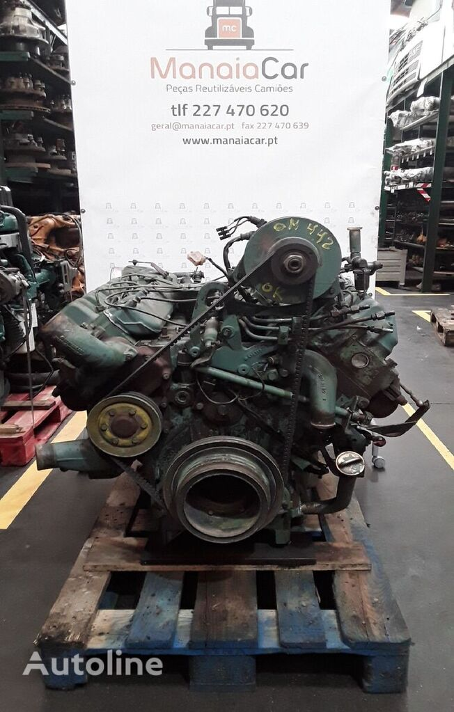 MERCEDES-BENZ OM 442 engine for truck