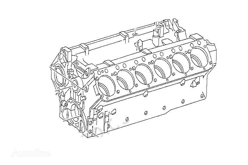 new MERCEDES-BENZ OM 444 engine for WIRTGEN asphalt paver