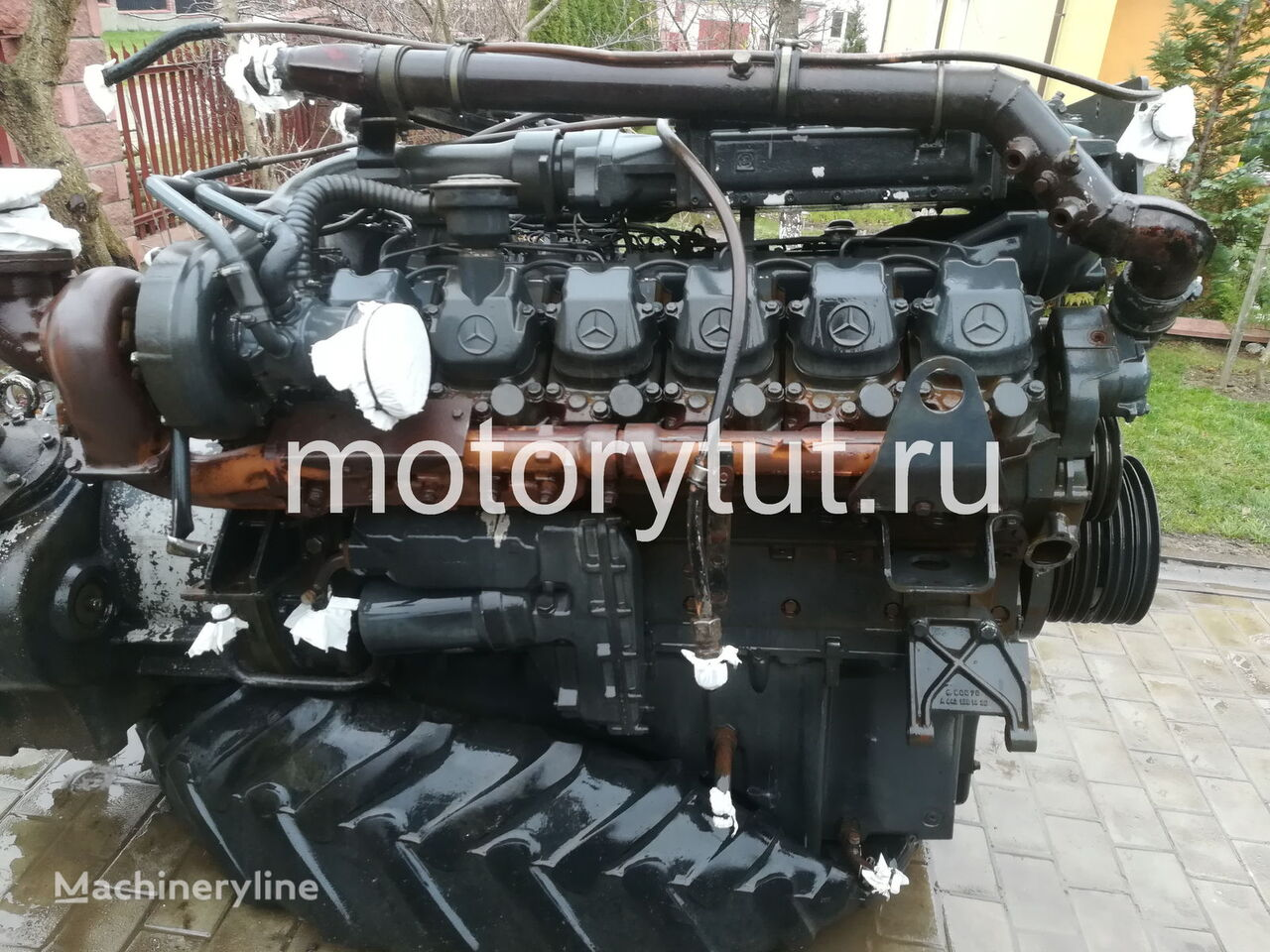 MERCEDES-BENZ OM 444 LA (444.901) engine for WIRTGEN asphalt milling machine