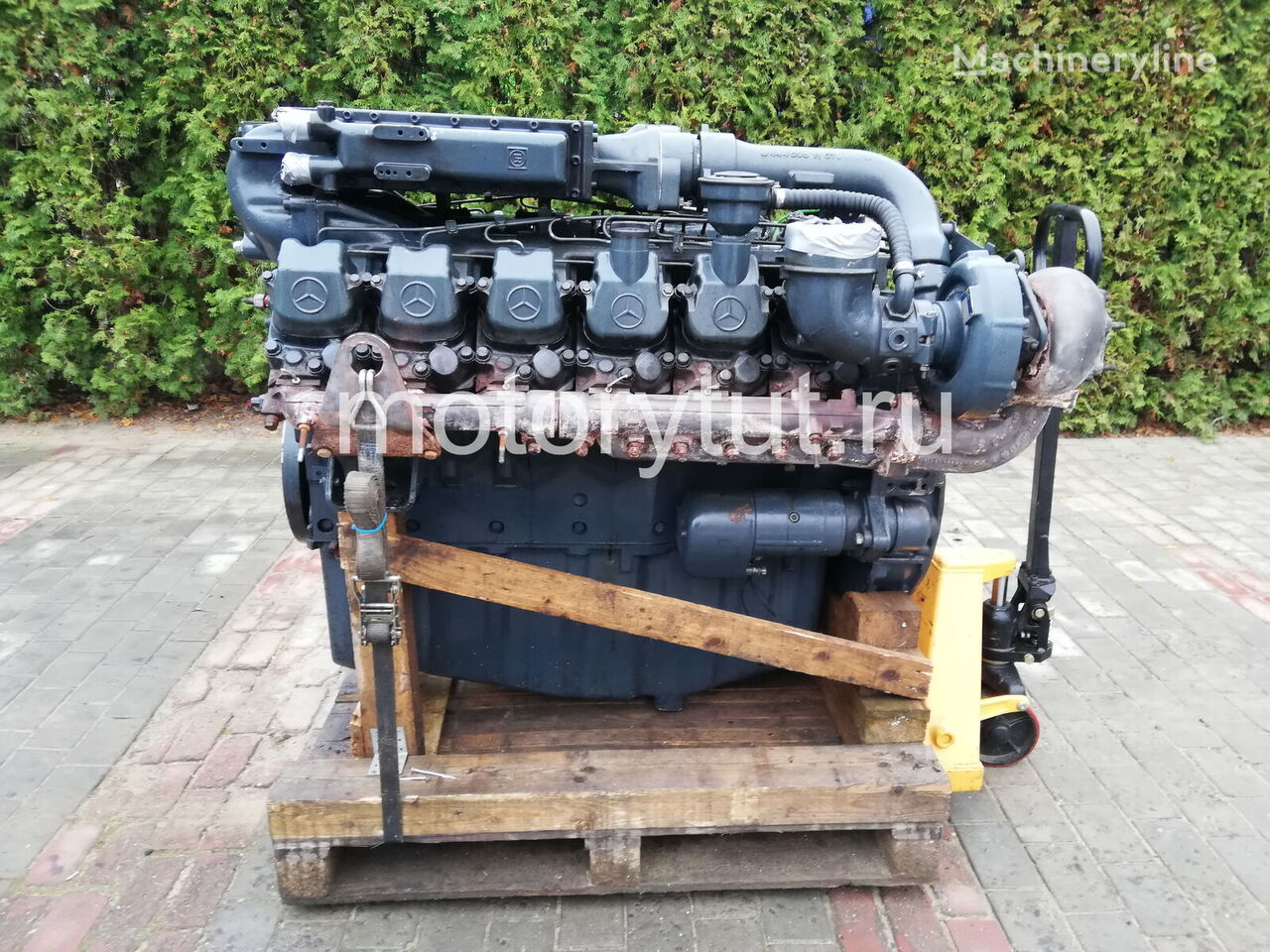 MERCEDES-BENZ OM 444 LA (444.901) engine for WIRTGEN W2100 DCR asphalt milling machine