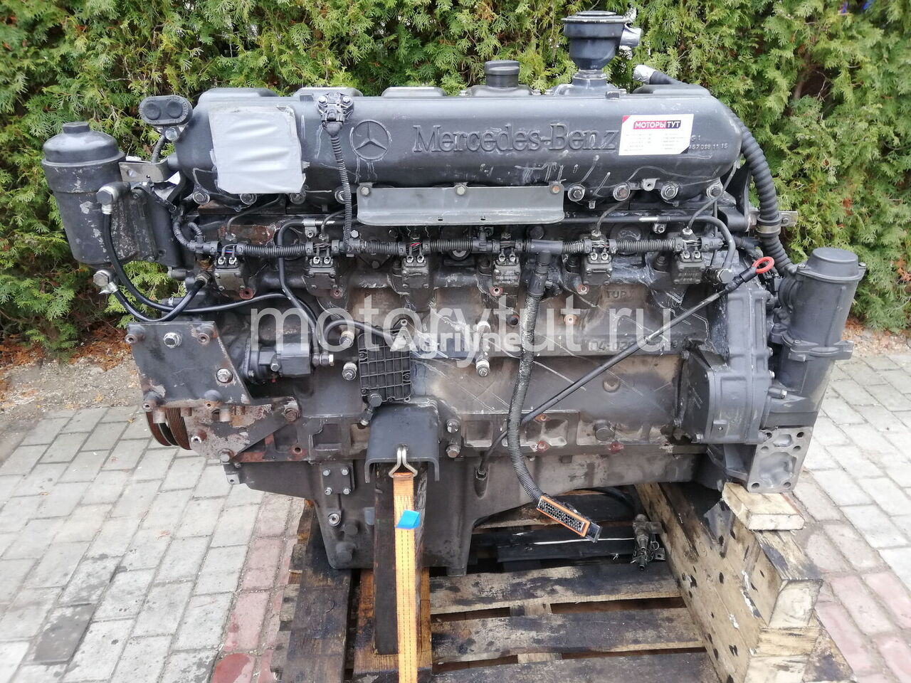 MERCEDES-BENZ OM 457 LA (458.970, 458.980) engine for CLAAS Jaguar grain harvester