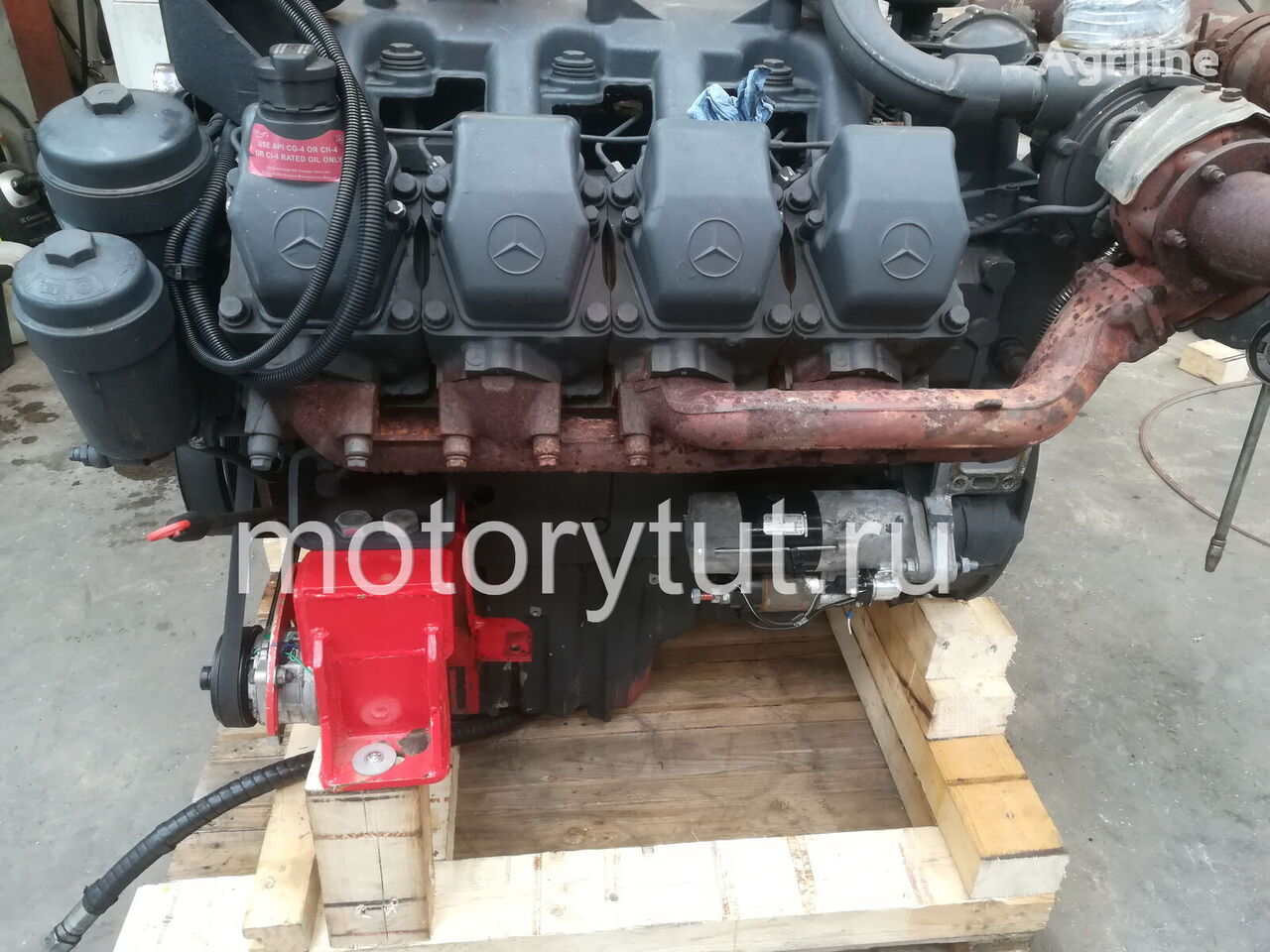MERCEDES-BENZ OM 502 LA (942.992) engine for CLAAS grain harvester