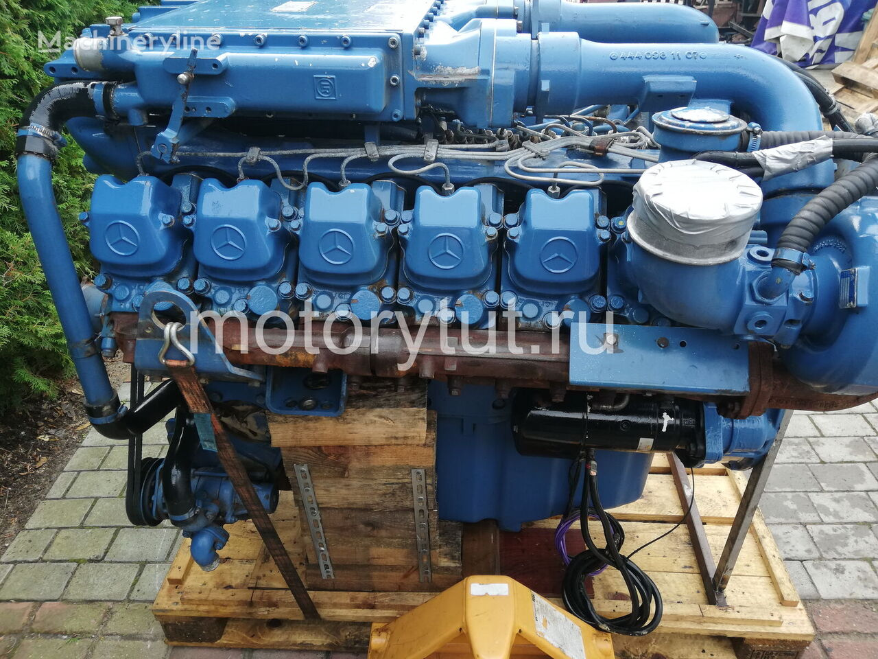 MERCEDES-BENZ OM444LA (444.901) engine for WIRTGEN WR 2500 recycler