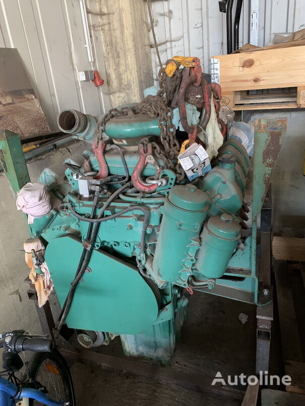 MERCEDES-BENZ OM502LA engine for asphalt milling machine