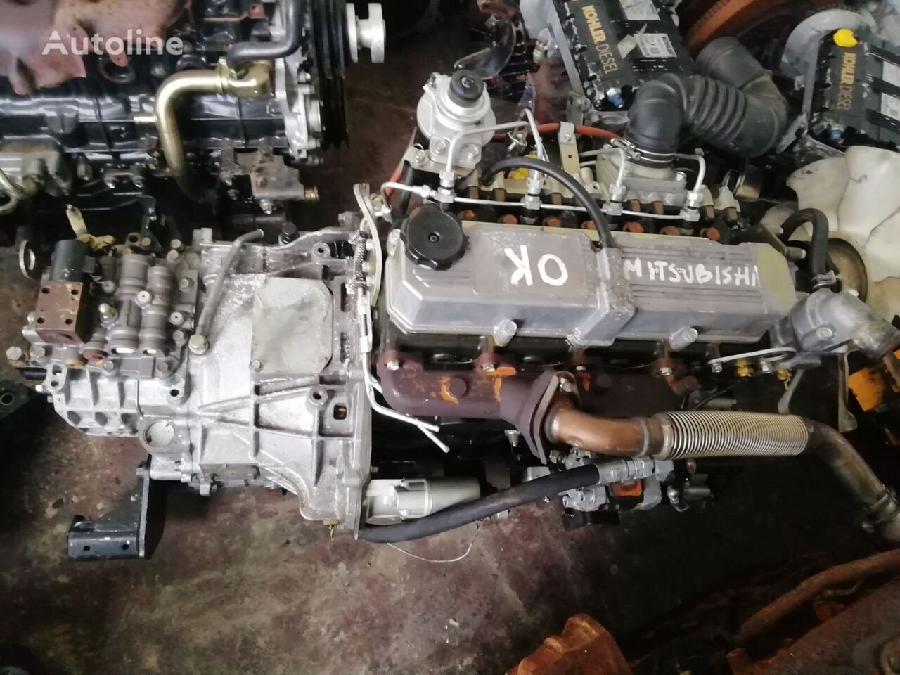 MITSUBISHI S4S-SD engine for MITSUBISHI material handling equipment