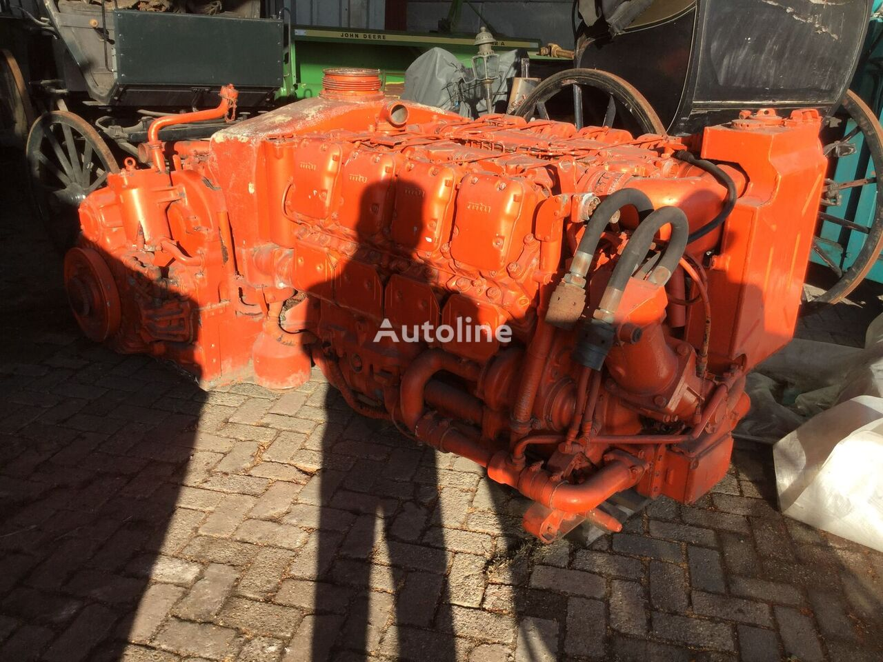 MTU engine for Tank tank trailer
