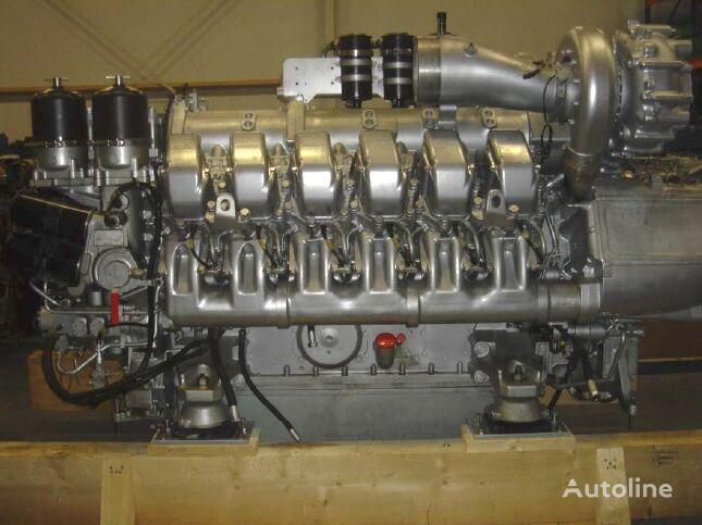 new MTU MARINE 12V 2000 M90 engine for MAN MTU camper