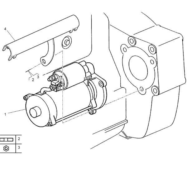 Motor Arranque Renault Premium 2 Lander 440.18 (7420732977) engine for RENAULT Premium 2 Lander 440.18 tractor unit