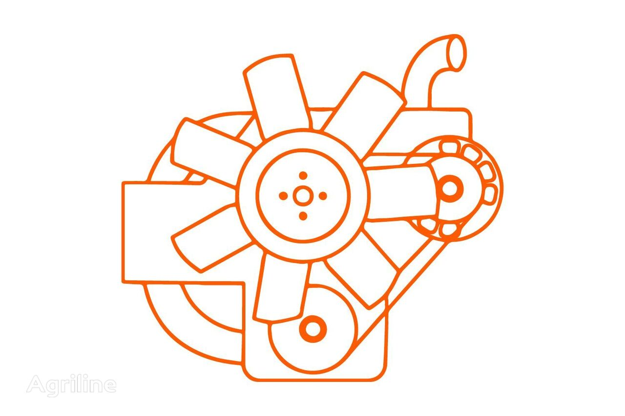 Motor E3112 Iseki, TM, TF, Sial, TXG, SXG, SF, SFH, SGR, SXH, Ma engine for TM, TF, Sial, TXG, SXG, SF, SFH, SGR, SXH mini tractor