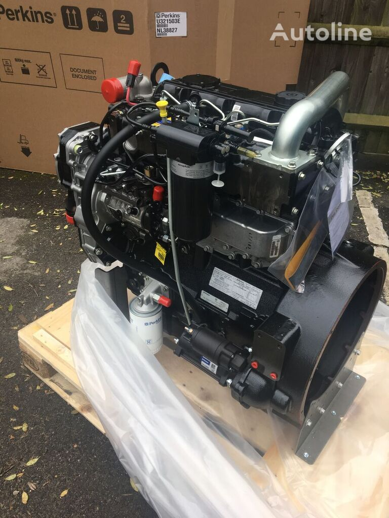 PERKINS 1104D-44T NL38827 engine for truck