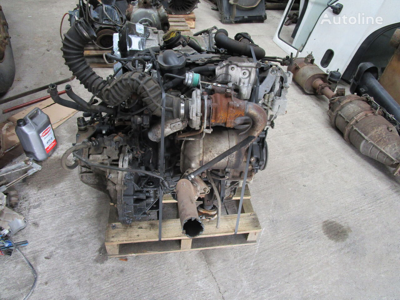 engine for RENAULT TRAFFIC 1.9 DTi truck