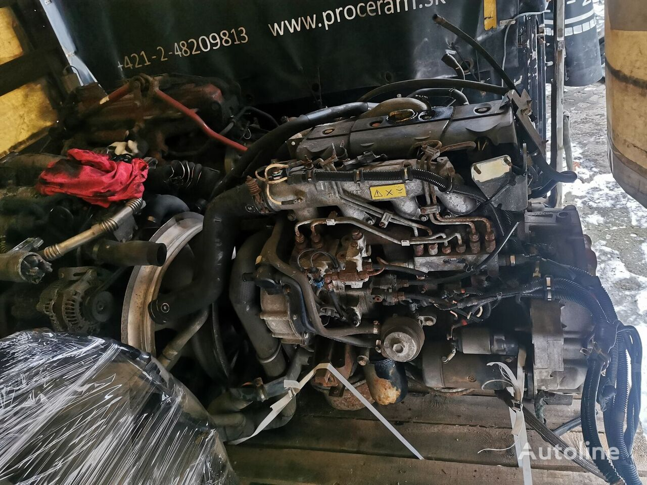 RENAULT MIDR040226 engine for truck