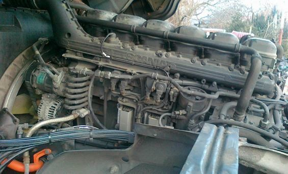 DC13 engine for SCANIA truck