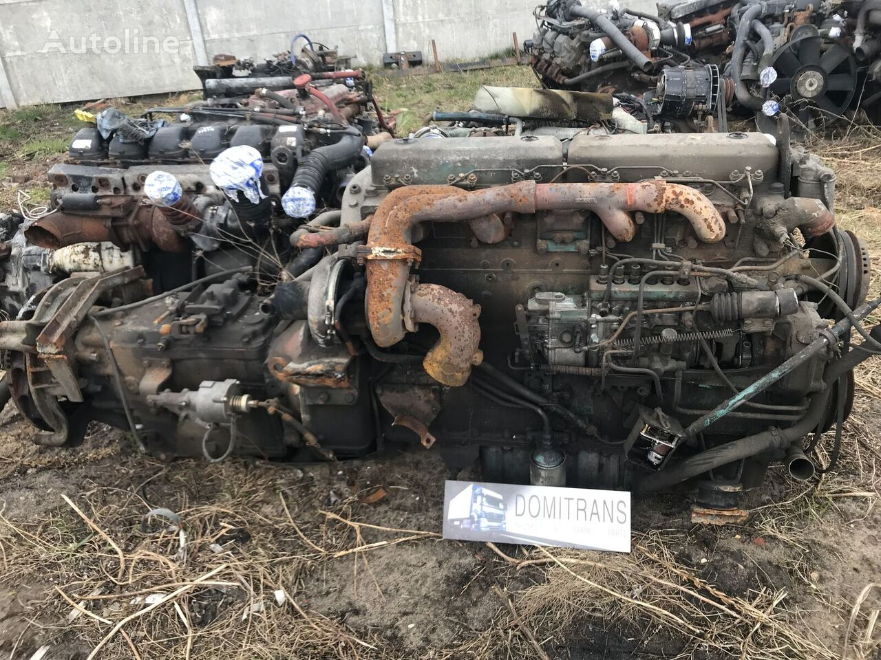 SCANIA 112 DS1115 engine for tractor unit
