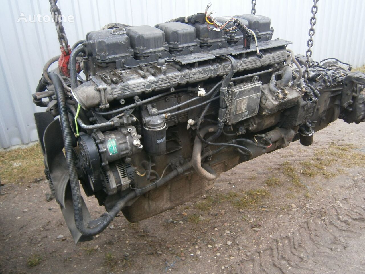 SCANIA 114 DC1102 380 PDE E2 engine for SCANIA 114  truck