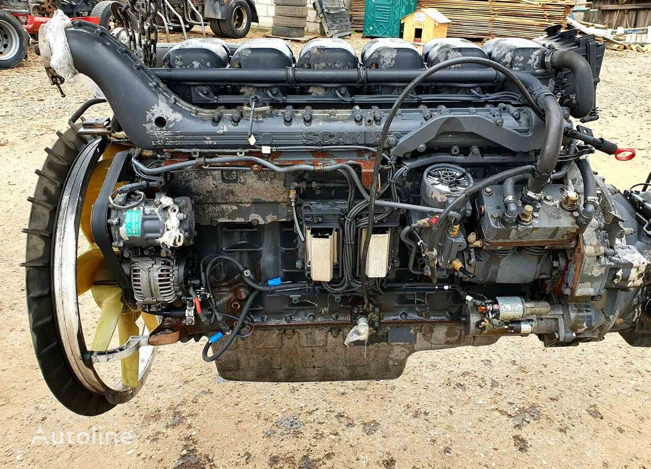 SCANIA DC 1109 L engine for SCANIA R380 truck