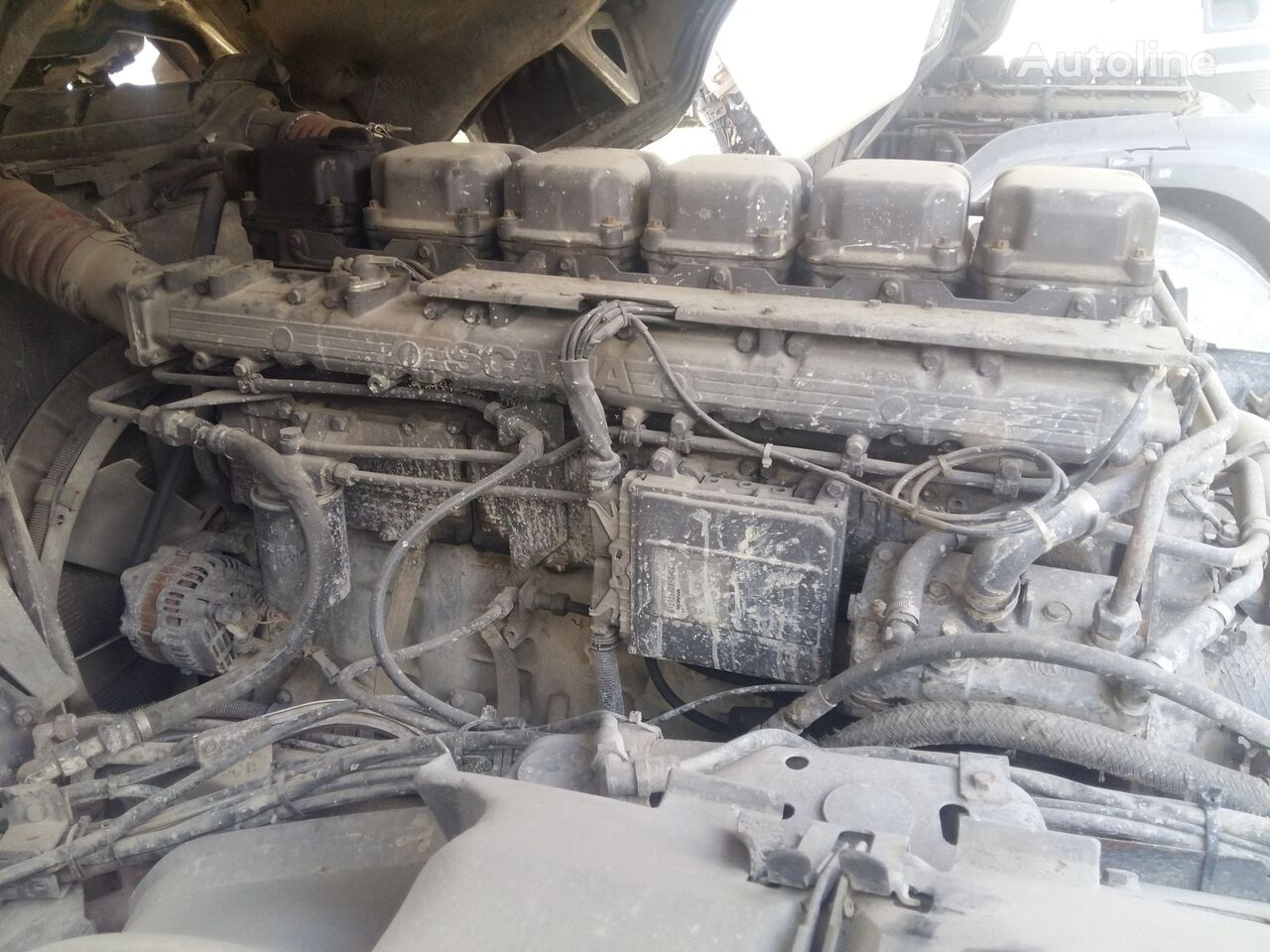 SCANIA DC1102 PDE engine for SCANIA 114 PDE 380 E2 truck