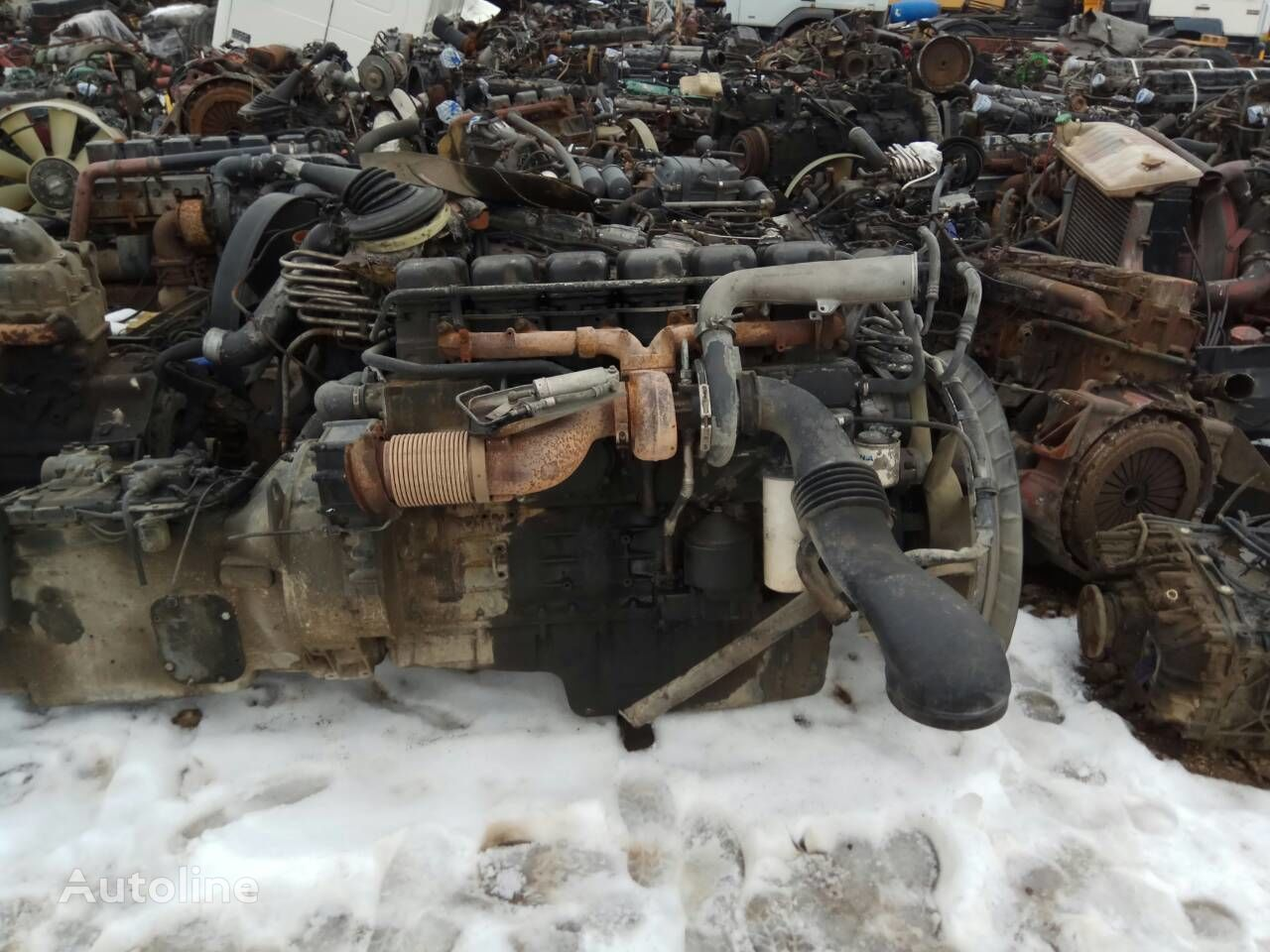 SCANIA DC1103 engine for SCANIA 114  truck
