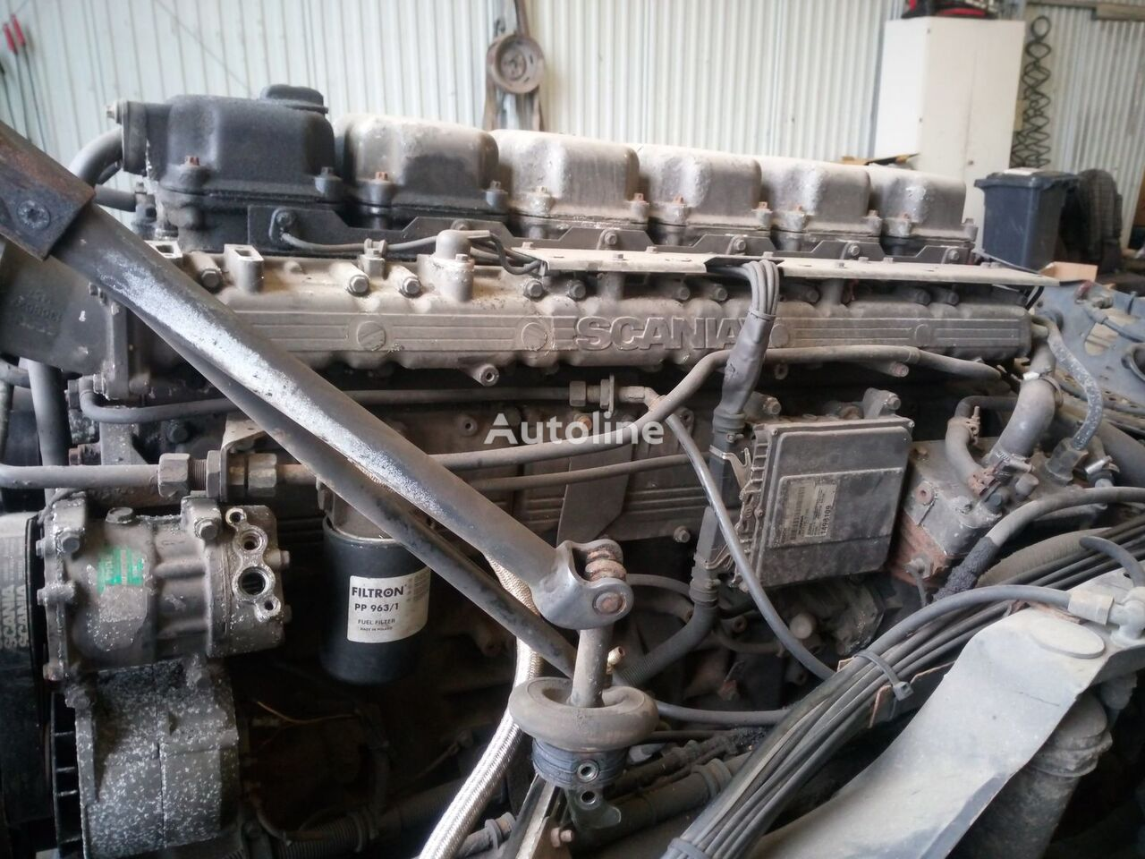 SCANIA DC1104 L01 engine for SCANIA 114 truck