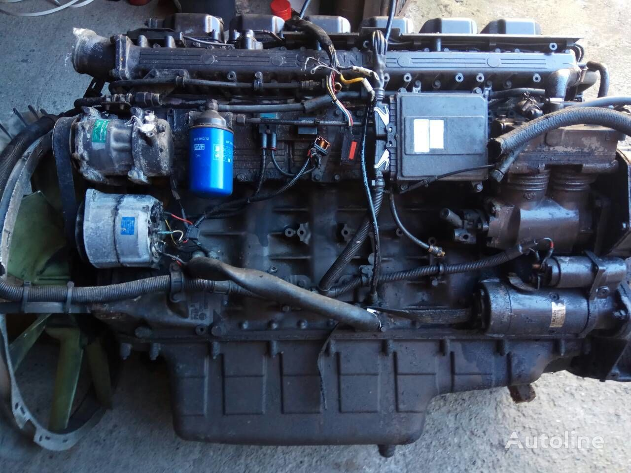 SCANIA DC1104 PDE 380 E3 engine for SCANIA 114  truck