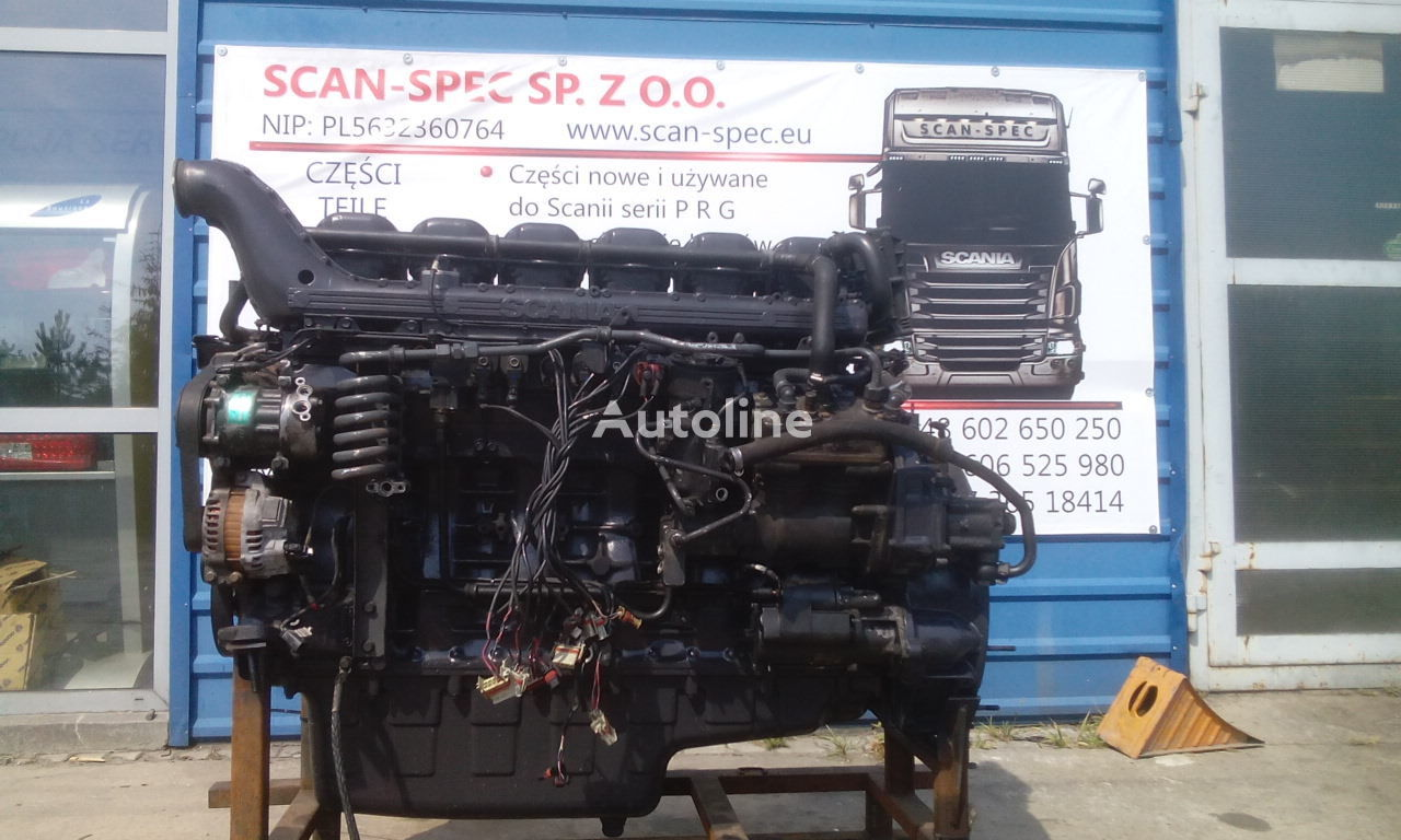 SCANIA DC12 15/18 engine for SCANIA R 2006-2010 tractor unit