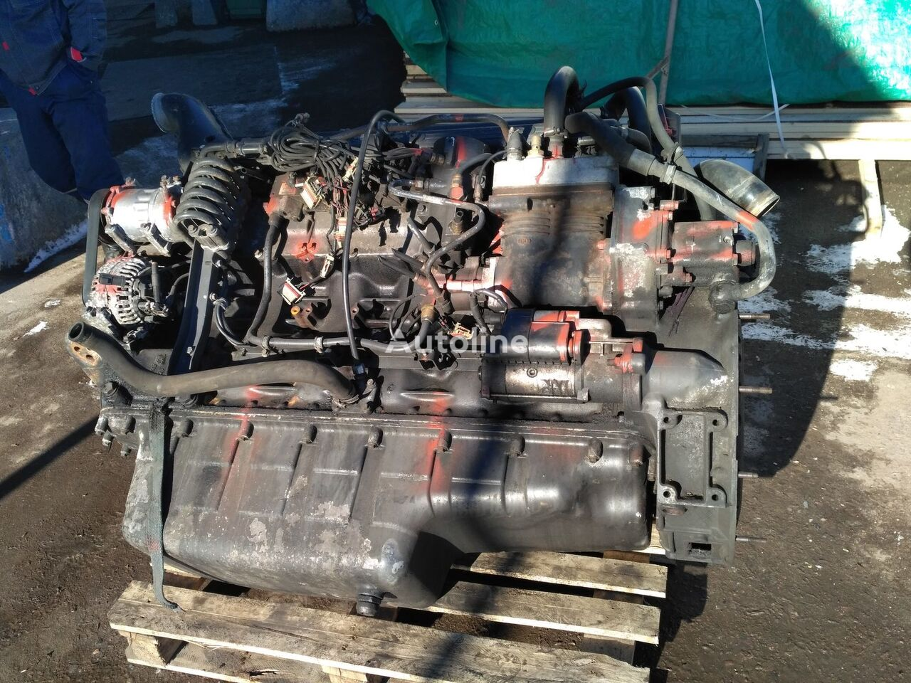 DC1214 HPI E3 engine for SCANIA R 420 truck