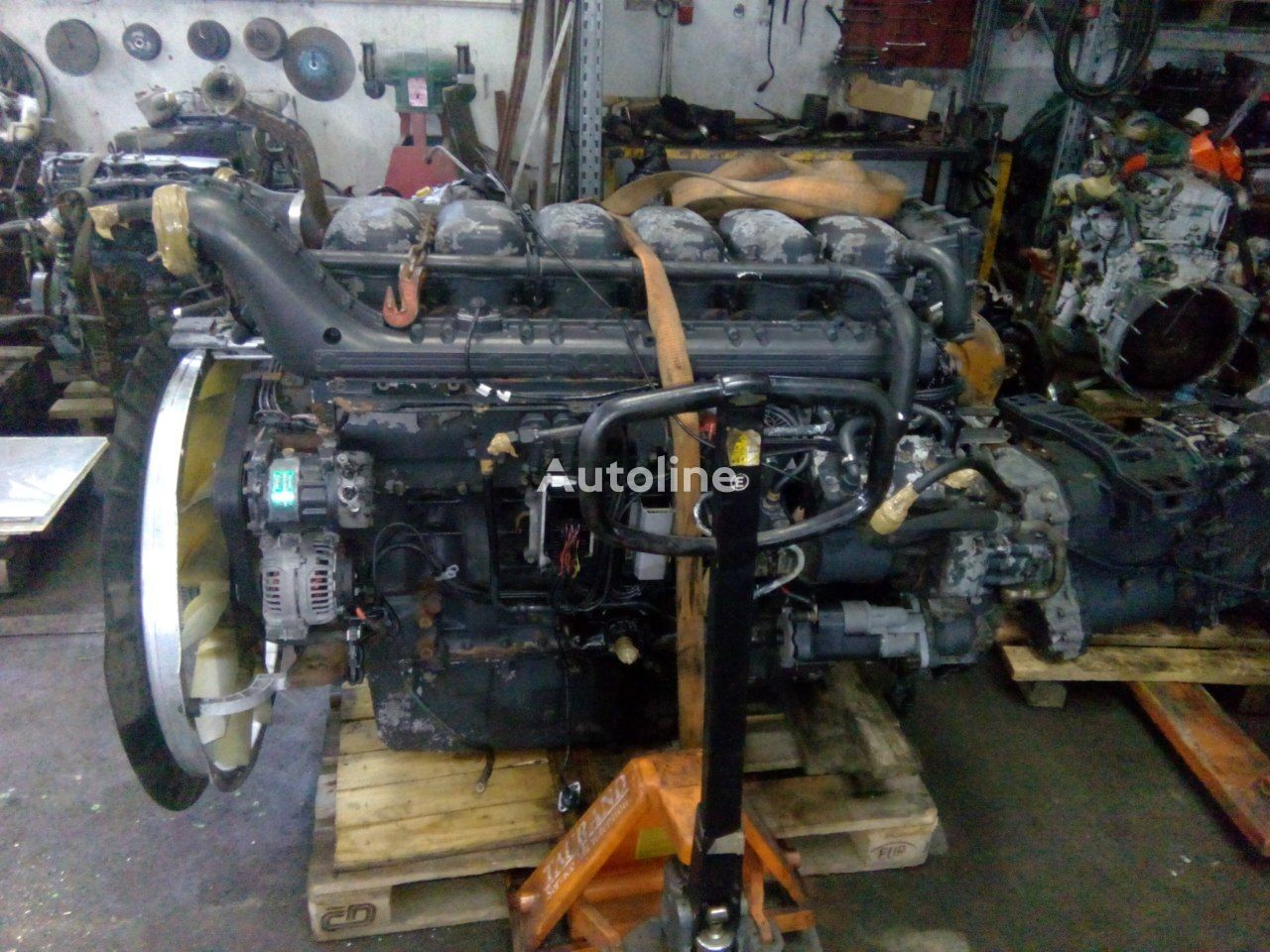 SCANIA DC1214 HPI E4 engine for SCANIA R420  truck