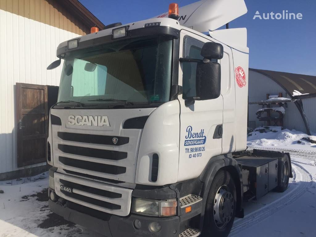 SCANIA DC1310 / 440 HP XPI EURO 5 engines for SCANIA G440 tractor
