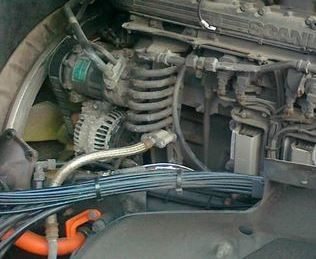 SCANIA DC16 engine for SCANIA truck