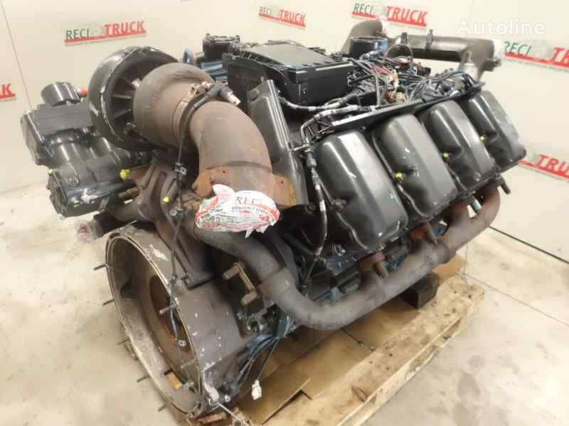 damaged SCANIA DC16 06 engine for SCANIA R500 truck