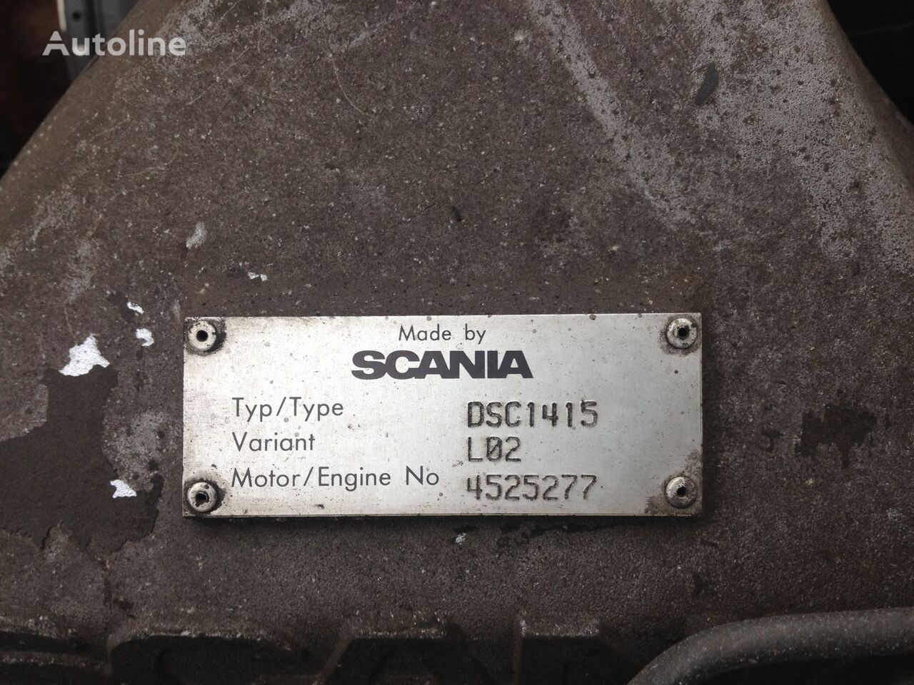 SCANIA DSC1415 engine for SCANIA R144 tractor unit