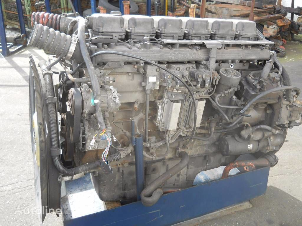 SCANIA DT1202 L01 470 E3 engine for SCANIA 124 truck