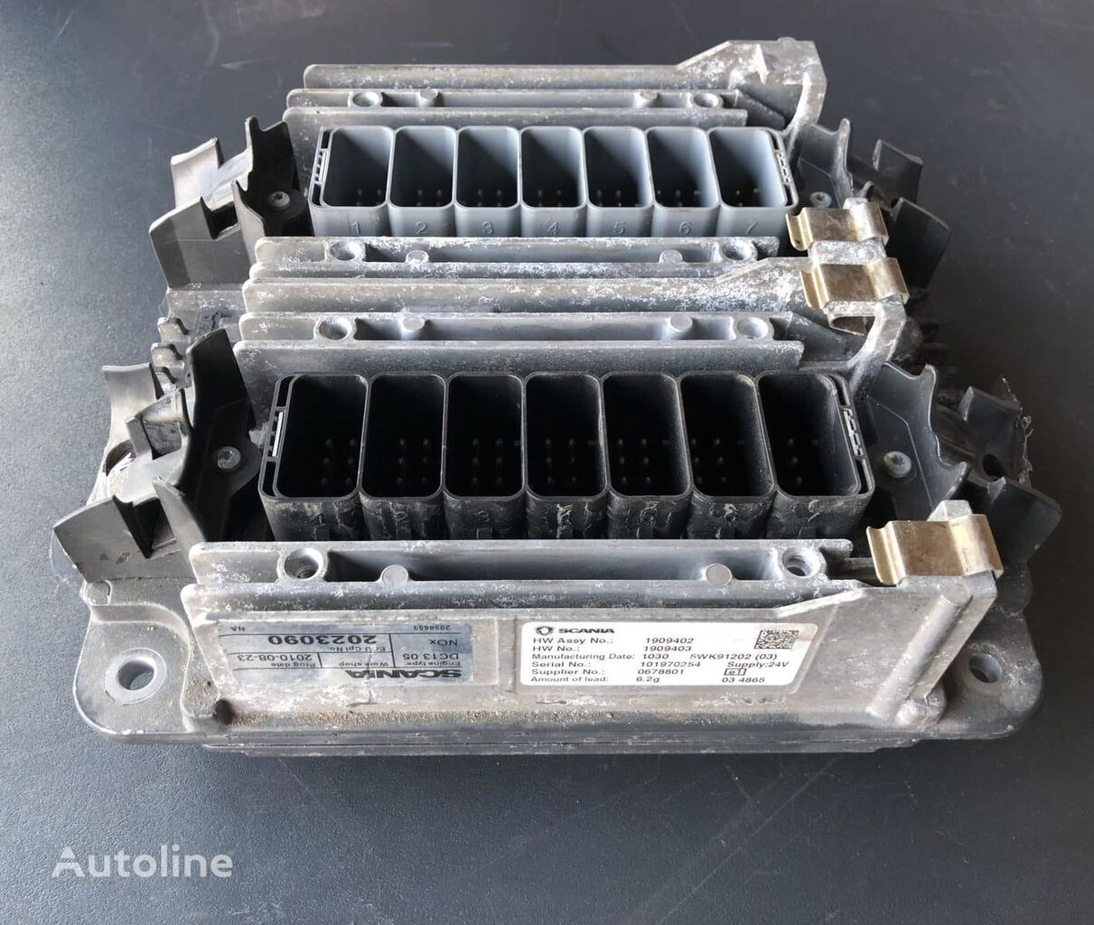 SCANIA ECU DC 13.05 EU5 – XPI – 400hp engine for truck