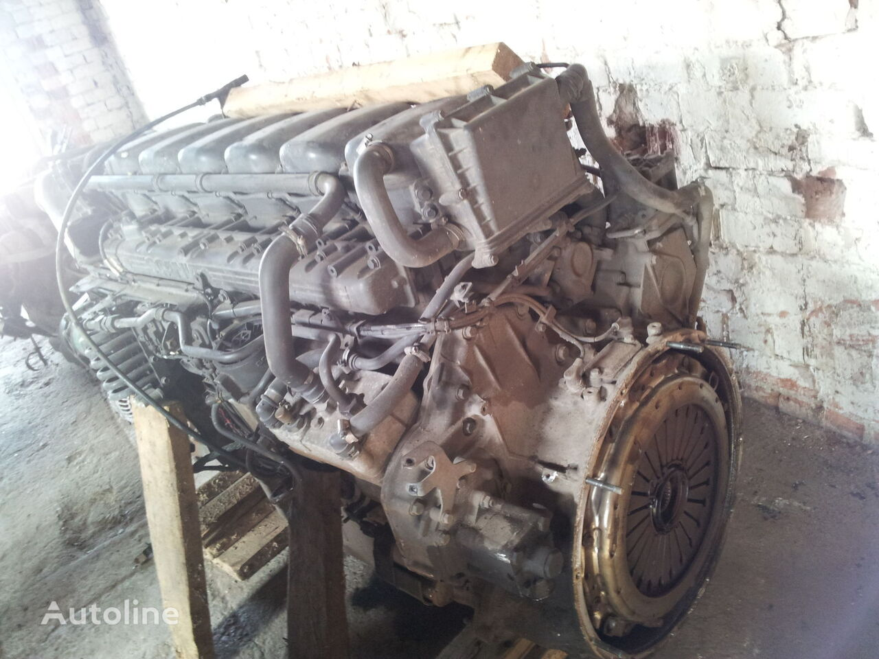 SCANIA R series HPI engine, EUO3, EUO4, DT1217, 480PS, DT1206, 470PS, D engine for SCANIA R tractor unit