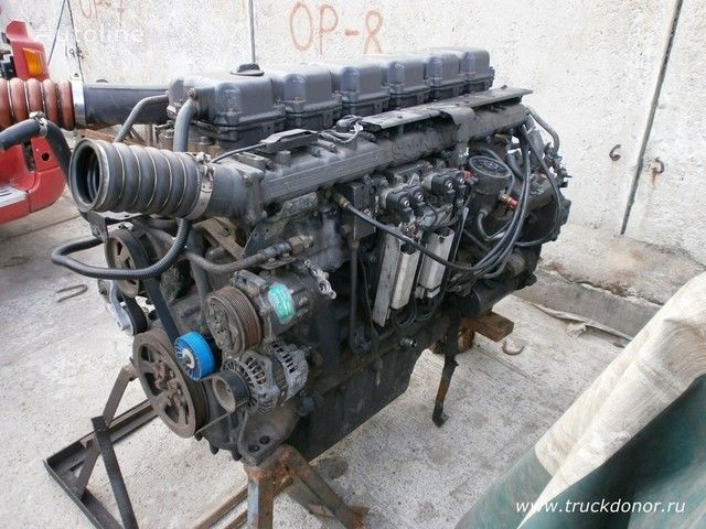 SCANIA Dvigatel DT 12 02 470 l.s. euro 3 engine for SCANIA truck