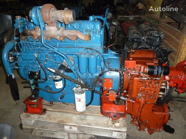 VAL88,  634 DS engine for SISU truck