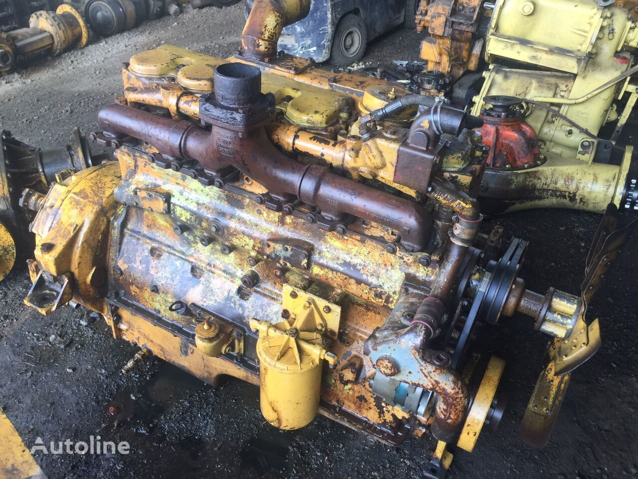 USED CUMMINS H743C H743 H743C145 H743C160 DIESEL NON TURBO engine for CUMMINS grader