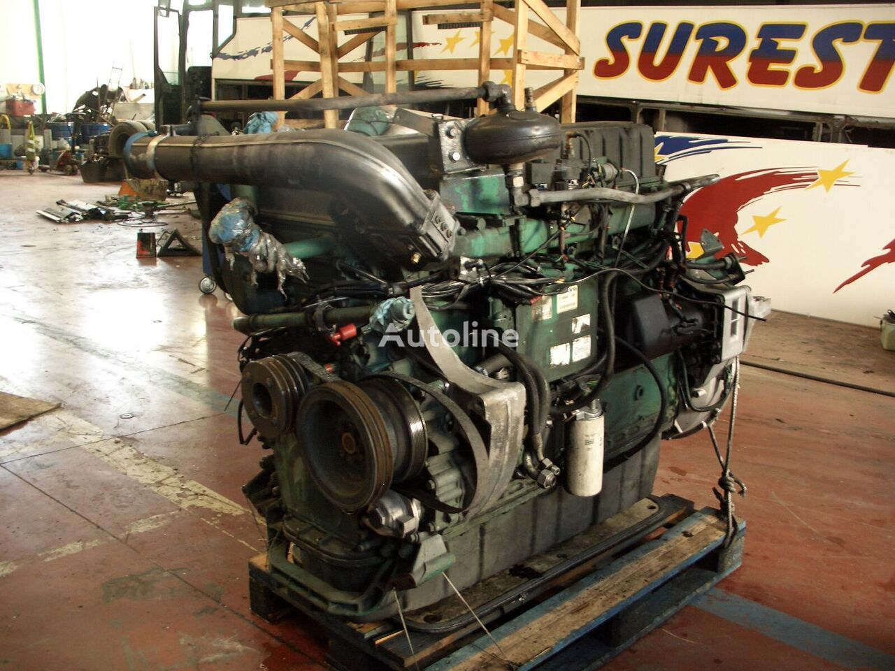 D12 A420 engine for VOLVO bus