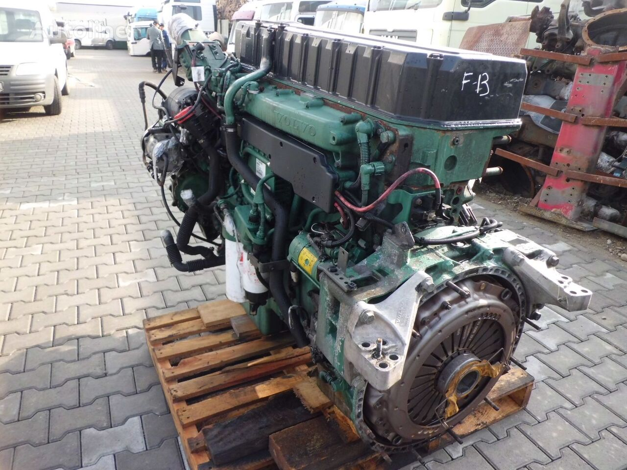 VOLVO D12A, D12C, D12D engine for VOLVO truck