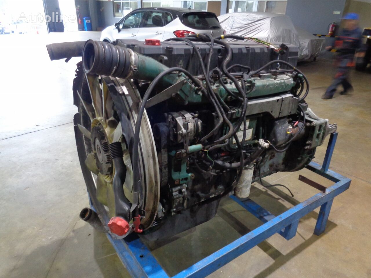 VOLVO D12C420 (D12134190) engine for VOLVO FH12 420 truck