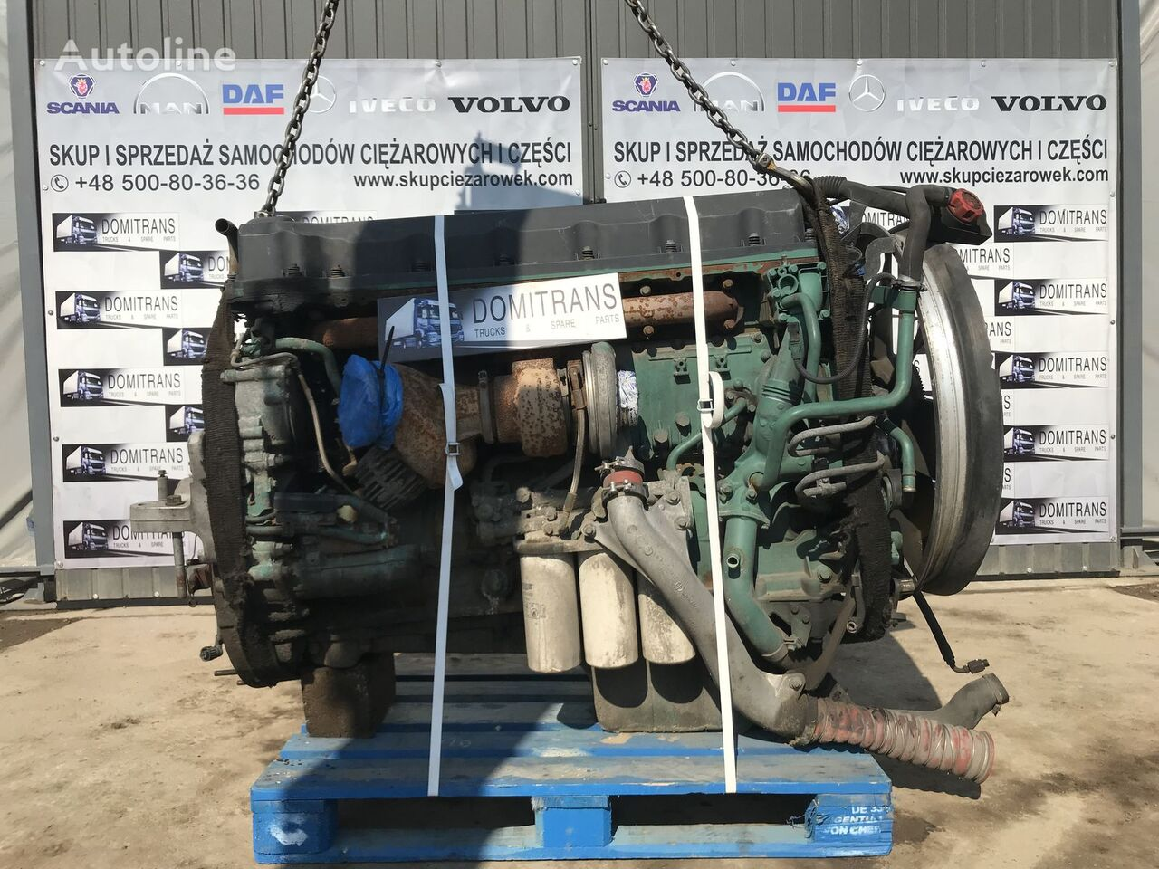 VOLVO D13A 400 KM/ 440 KM engine for VOLVO FH12 FH13 tractor unit