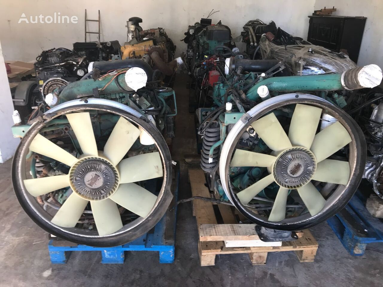 VOLVO D7C 290 engine for tractor unit