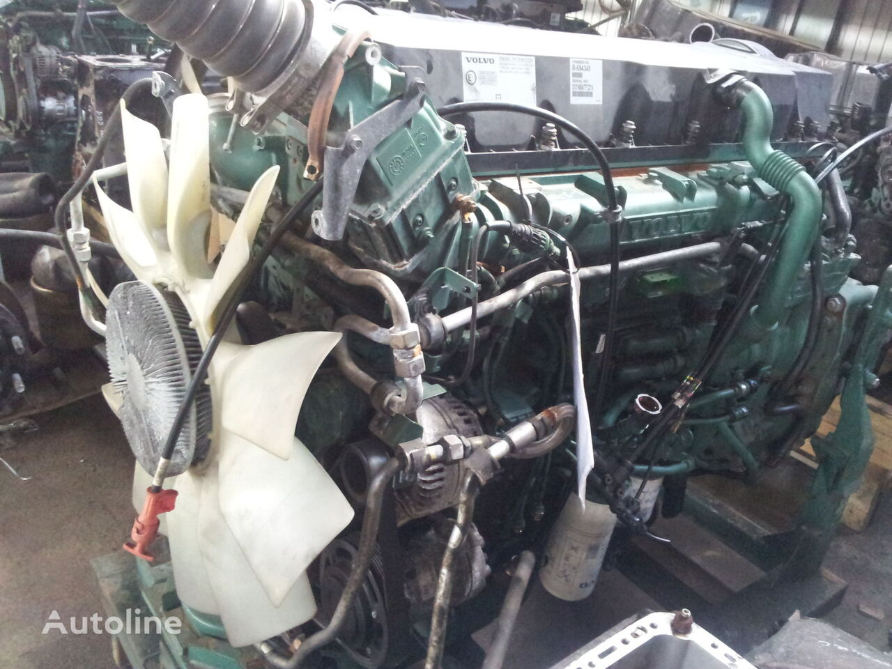 VOLVO FH13 engine D13C type, 21534853, 440 PS, 500 PS, EURO 5 emission engine for VOLVO FH13 tractor unit