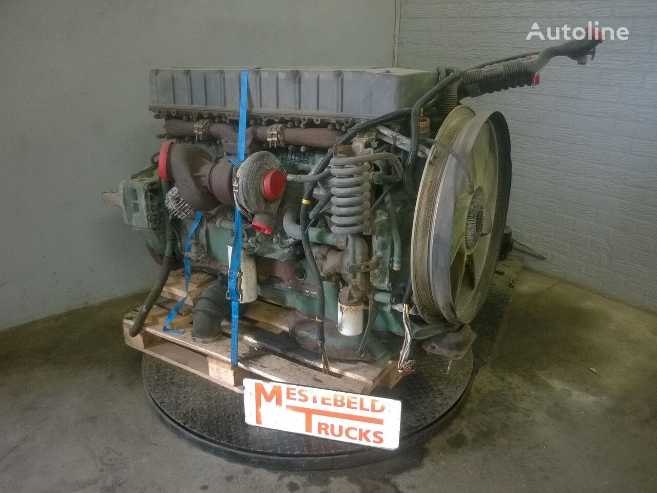 Volvo D12A 420 EC 93 engine for VOLVO Motor D12A 420 EC 93 tractor unit